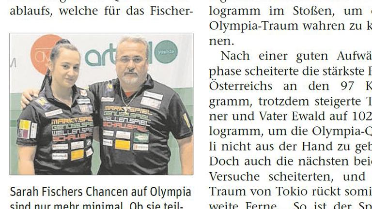 NÖN: Olympia-Teilnahme vor dem Aus